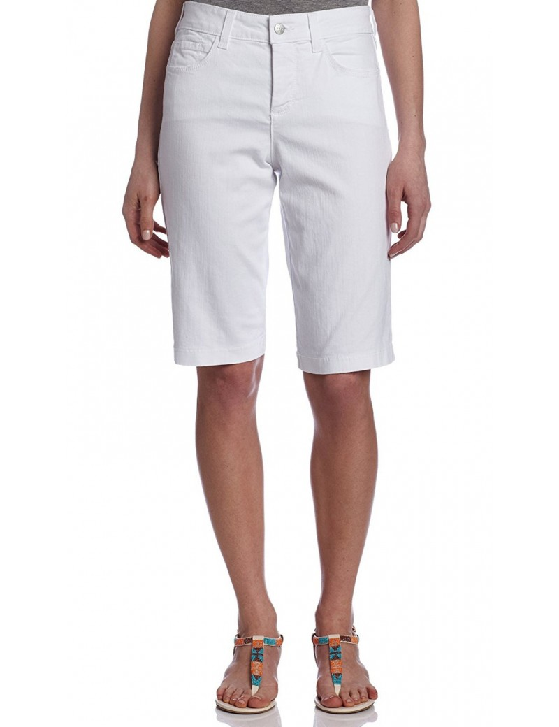 NYDJ - White Teresa Walking Shorts *M77A79DT3296