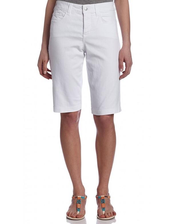 NYDJ - White Teresa Walking Shorts *M77A79DT3296