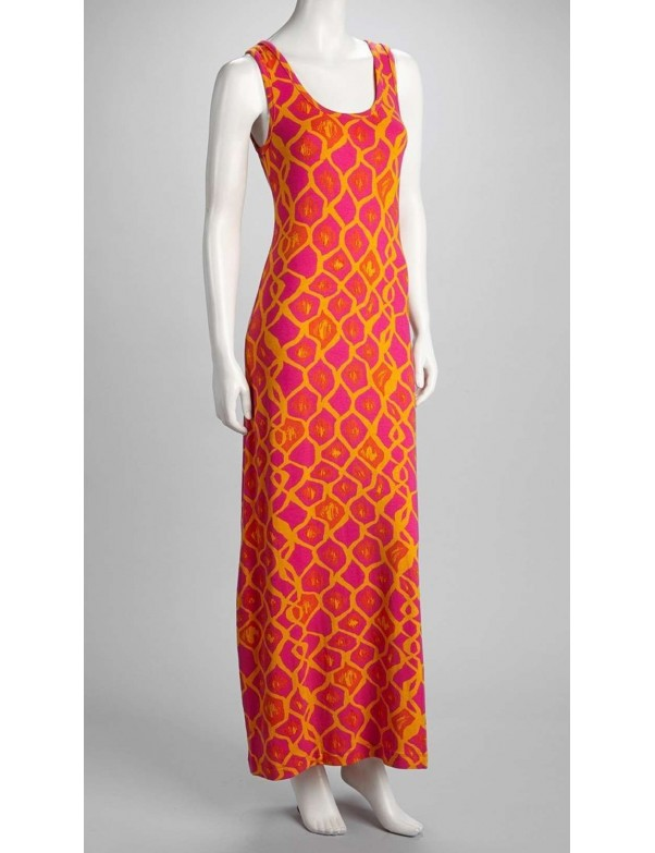 Hatley - Maxi Dress in Ikat Print