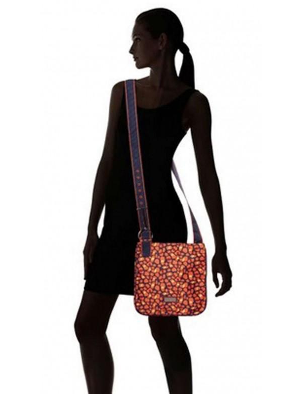 Hadaki - Nylon Scoop Sling Shoulder Bag in Arabesque Pebbles Pattern