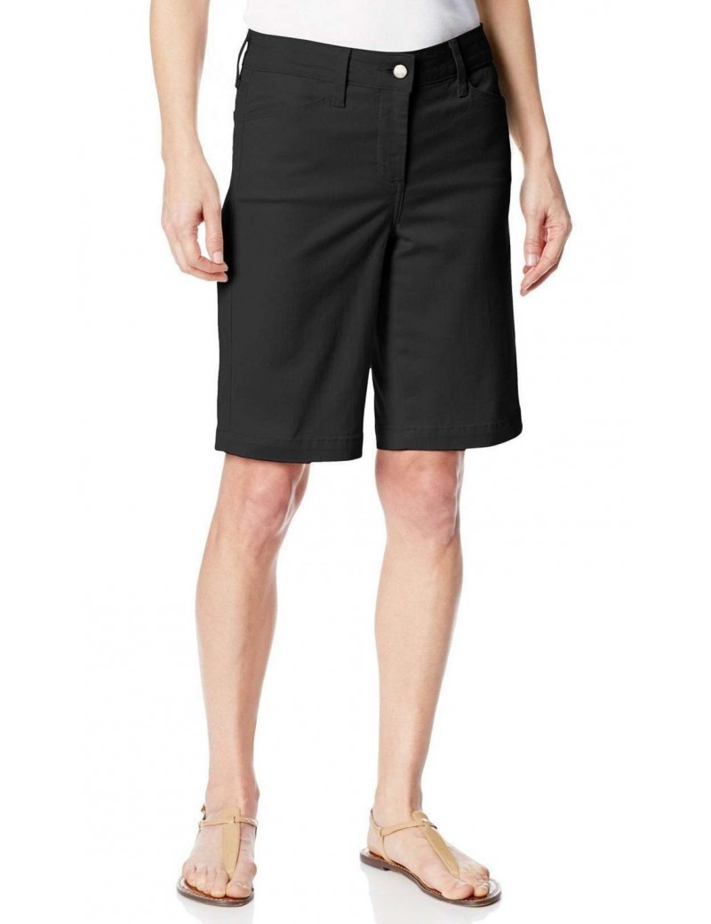 NYDJ - Arya Shorts in Black * M77F07DT3509