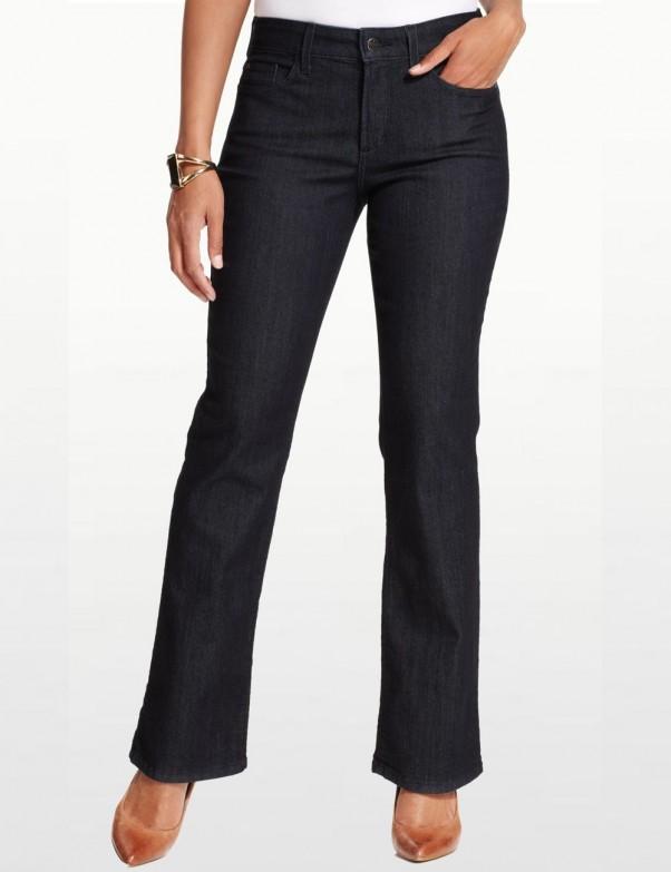 NYDJ - Barbara Bootcut Jeans in Dark Wash *10232T
