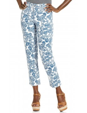 NYDJ - Alisha Ankle Pants in Seaport Paisley Print *30610HSP110
