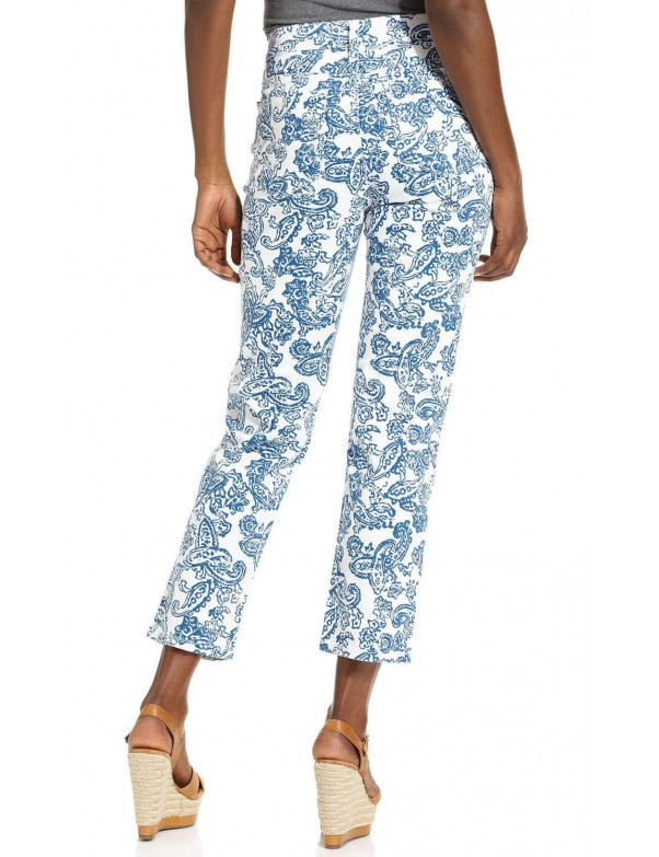 NYDJ - Alisha Ankle Pants *30610HSP110 - Seaport Paisley Print
