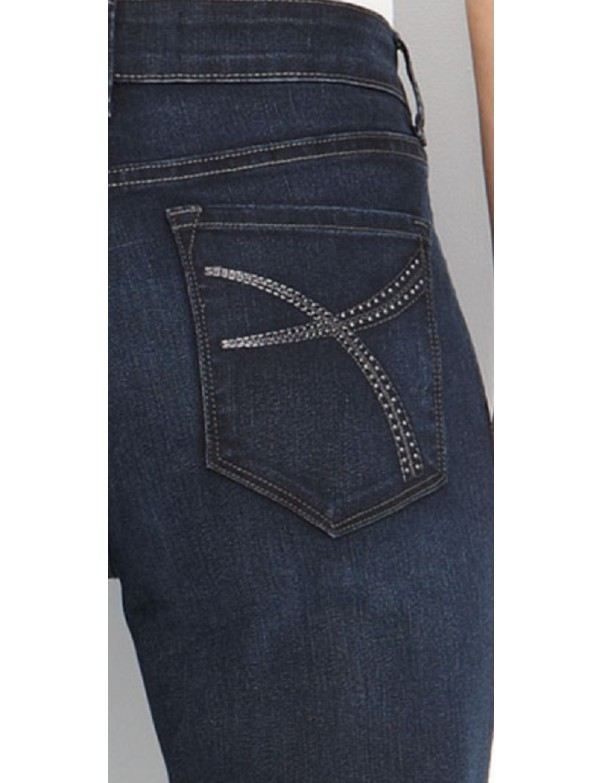 NYDJ - Barbara Bootcut Jeans with Emb*W29232SO1009
