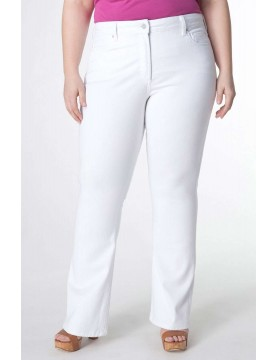 NYDJ - Barbara White Bootcut Jeans - Plus *W32232