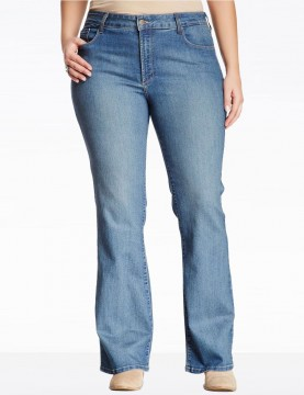 NYDJ - Barbara Bootcut Jeans in Hawthorn Wash - Plus *W40232HW