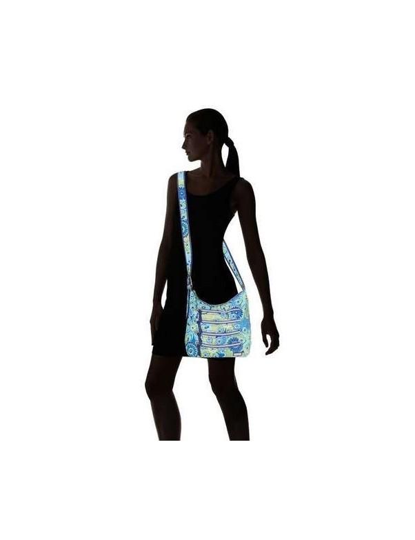 Hadaki - Nylon Millipede Tote in Jazz Cobalt Pattern