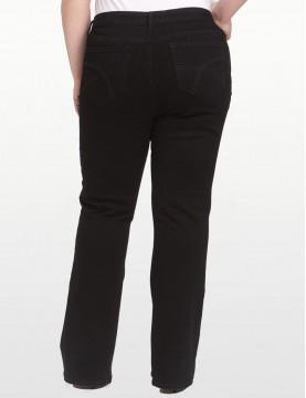 NYDJ - Hayden Black Bootcut Jeans in Black *W4032B