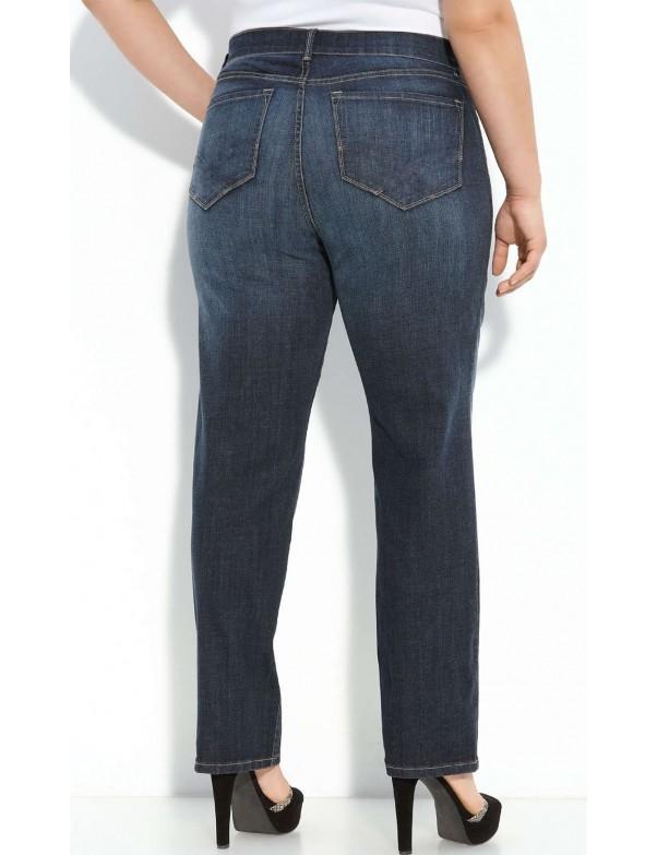 NYDJ - Plus Barbara Bootcut Jeans in Oak Meadow *w78232OM