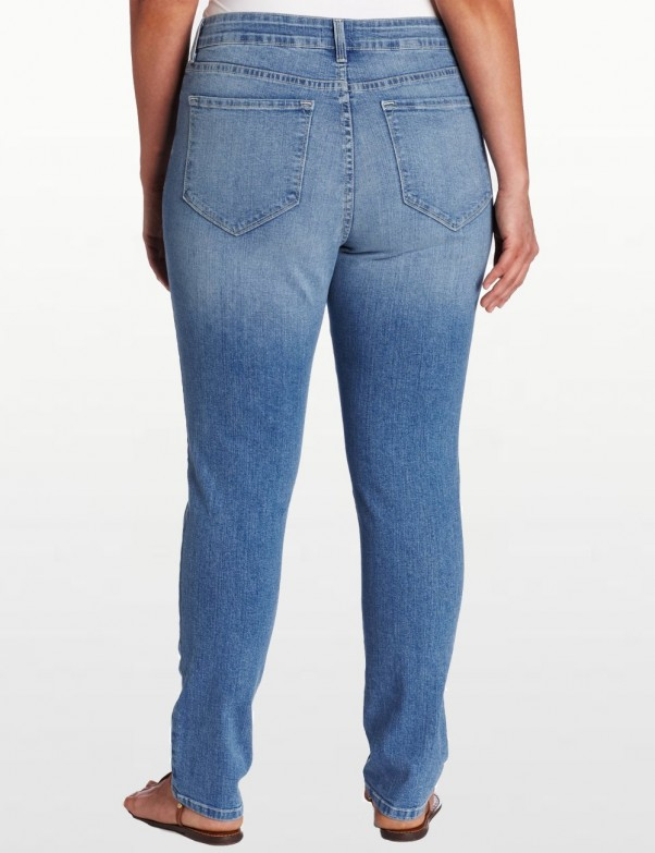 NYDJ - Plus Sheri Skinny Leg Jeans - Hawthorne Wash *W40265HW