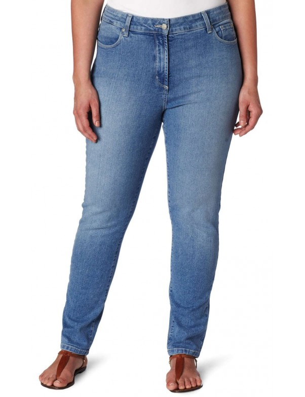 NYDJ - Sheri Skinny Leg Jeans - Hawthorne Wash - Plus *W40265HW
