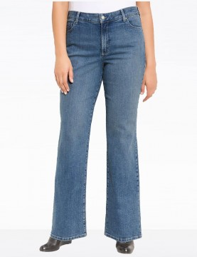 NYDJ - Plus Barbara Bootcut Jeans Emb in Montreal Wash *w70232mr802