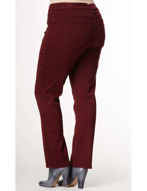 NYDJ - Plus Jaclyn Denim Leggings in Plumberry *W38989DT