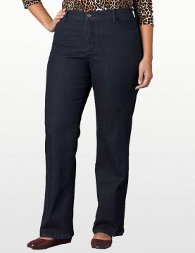 NYDJ - Plus Barbara Bootcut Embellished Jeans *w47232T956