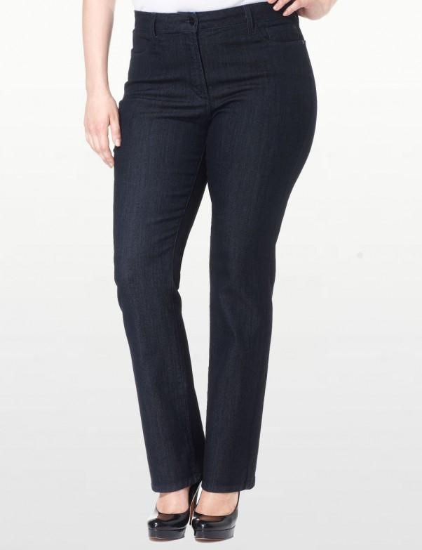 NYDJ - Plus Marilyn Straight Leg Jeans with Embellishments *w10227T1097