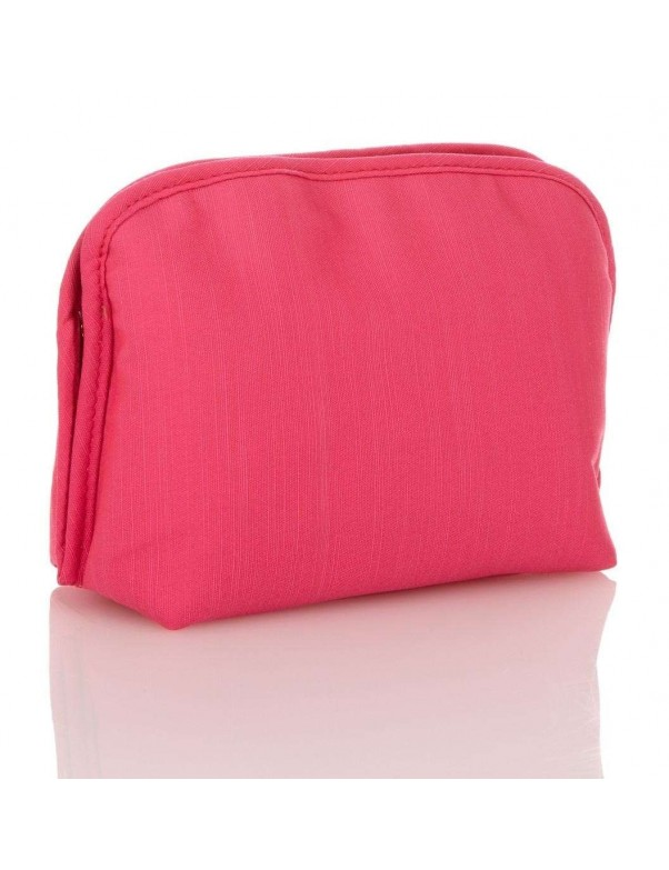 Trina - Pull Apart Clutch Makeup Bag in Pink