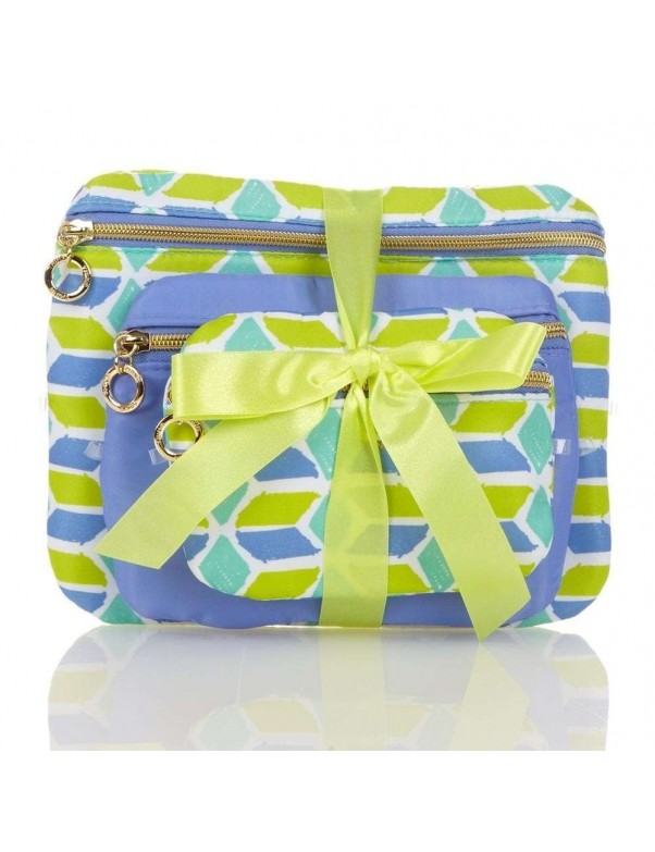 Trina - Bahama 3 Piece Make Up bag