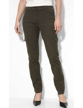 NYDJ - Anna Slim Cargo Pants in Moss*30314