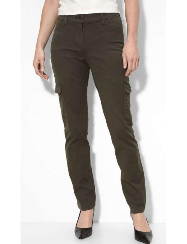 NYDJ - Green Anna Slim Cargo Pants *30314