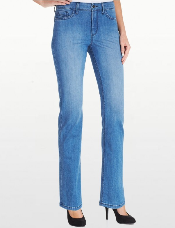 NYDJ - Hayley Straight Leg Jeans in Newberry Wash *M44K43N14338