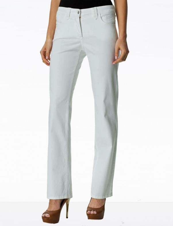 NYDJ - Hayden Straight Leg Jeans in White *49063