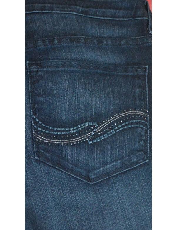NYDJ - Sheri Embellished Skinny Leg Jeans in Dana Point *10265DP3198
