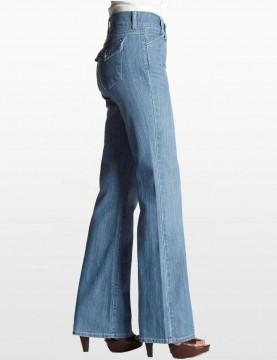 NYDJ - Gwenyth Bootcut Jeans in Sunbleached Denim *1842L