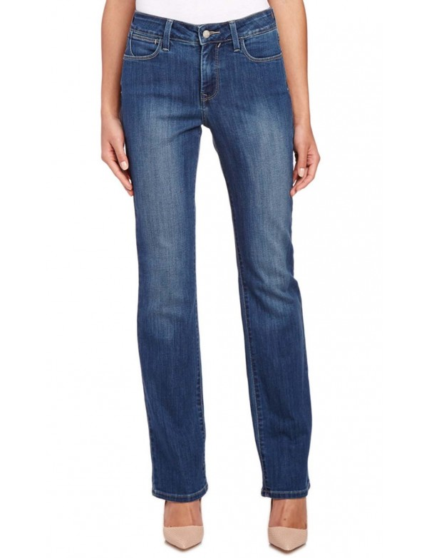 NYDJ - Marilyn Straight Leg Jeans in Pittsburg Wash *M17G58P6