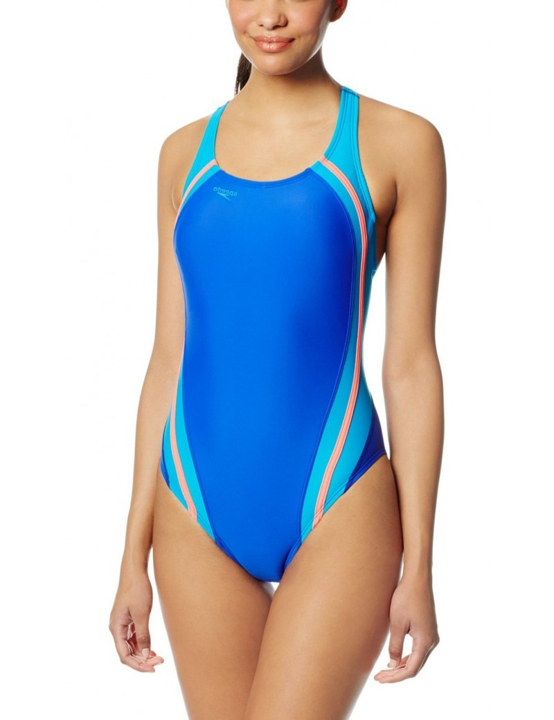 Speedo -  Fitness Quantum Splice One Piece - Deep