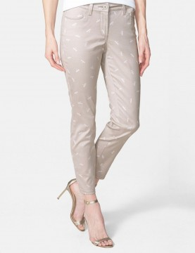 NYDJ - Clarissa Stretch Ankle Pants in Dragonfly Print *MORN54P324
