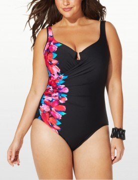 Miraclesuit - Escape One Piece Swimsuit - Black & White