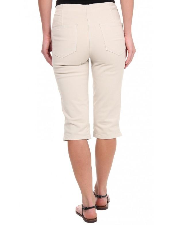 NYDJ - Kaelin Skimmer Shorts in Stone