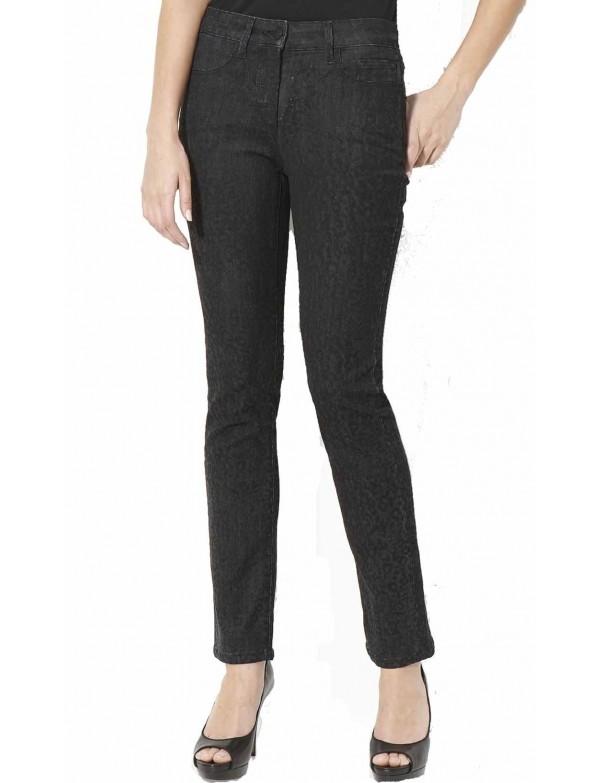 NYDJ - Sheri Slim Leg Jeans Cheetah Print *28265HSP03