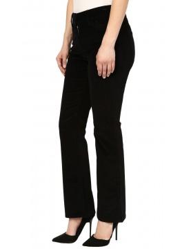 NYDJ - Billie Black Mini Bootcut Jeans *M40K25DT