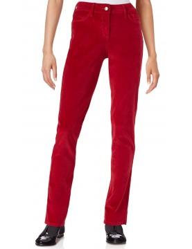 NYDJ - Samantha Slim Leg Corduroy Jeans in Cardinal Red *4M13Z1081