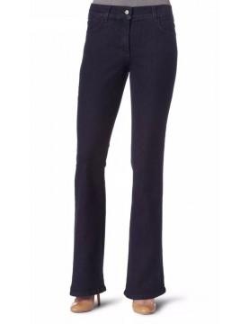 NYDJ - Phoebe Blue Black Modern Flare Leg Jeans *70351T