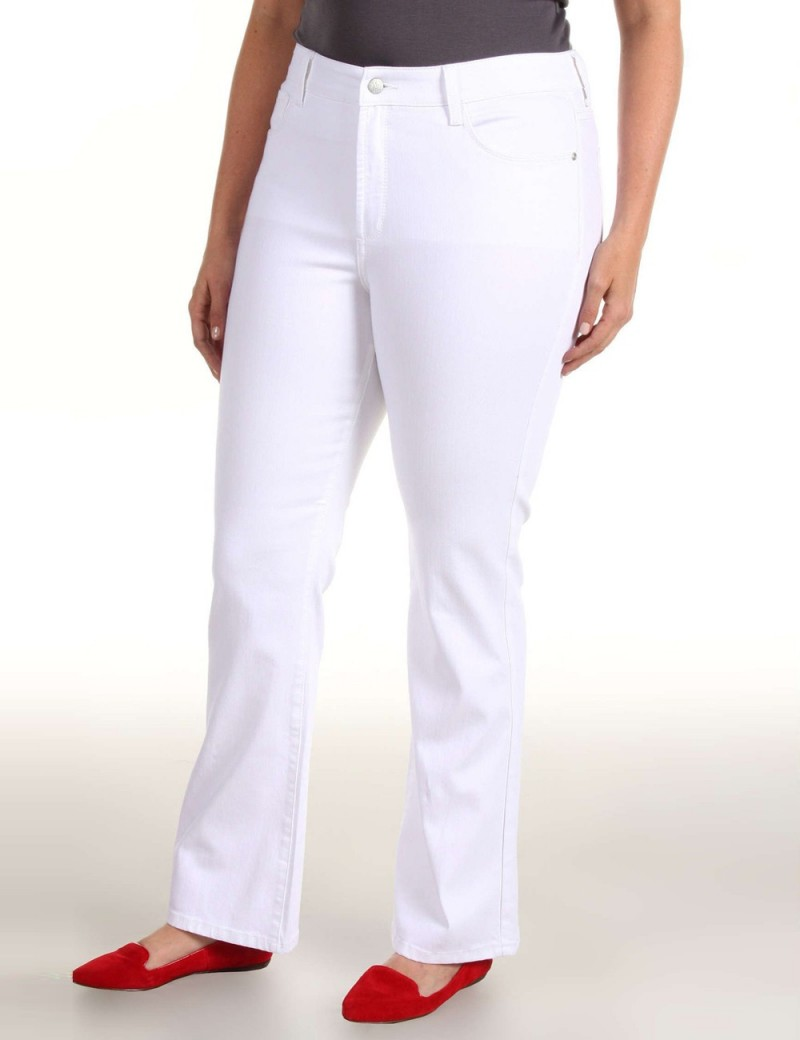 NYDJ - Barbara White Bootcut Jeans *w77232DT