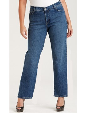 NYDJ - Marilyn Medium Wash Straight Leg Jeans *w70227MW1081