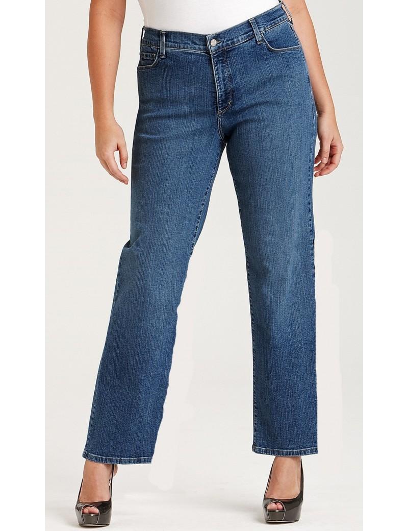 NYDJ - Marilyn Medium Wash Straight Leg Jeans *w70227MW1081