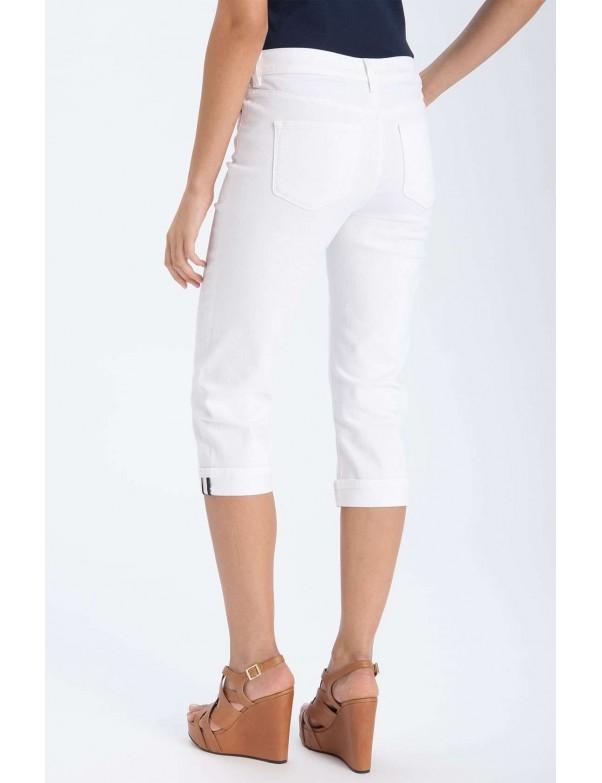 NYDJ - Edna Cuffed Capri's - White*77994DT