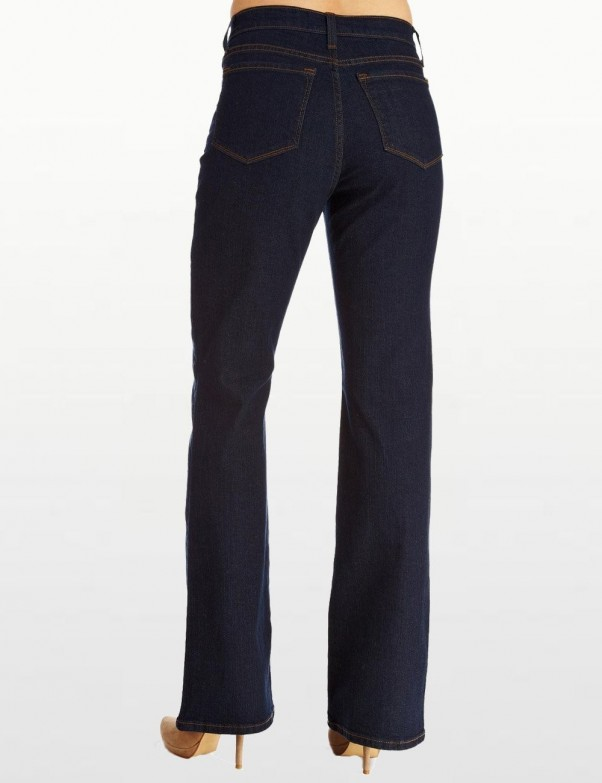 NYDJ - Denim Straight Leg Jeans with Embroidery *9831195a