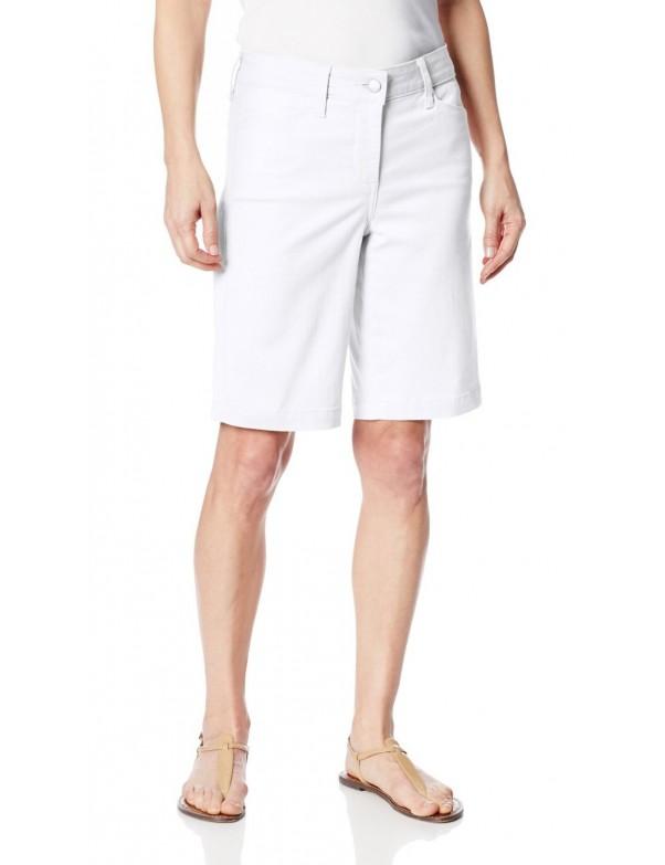 NYDJ - Arya Shorts in White * M77F07DT3509