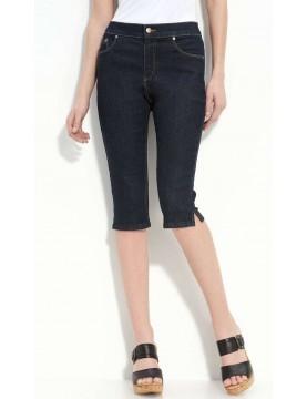 NYDJ - Clamdigger Shorts - Dark Wash Denim *70379