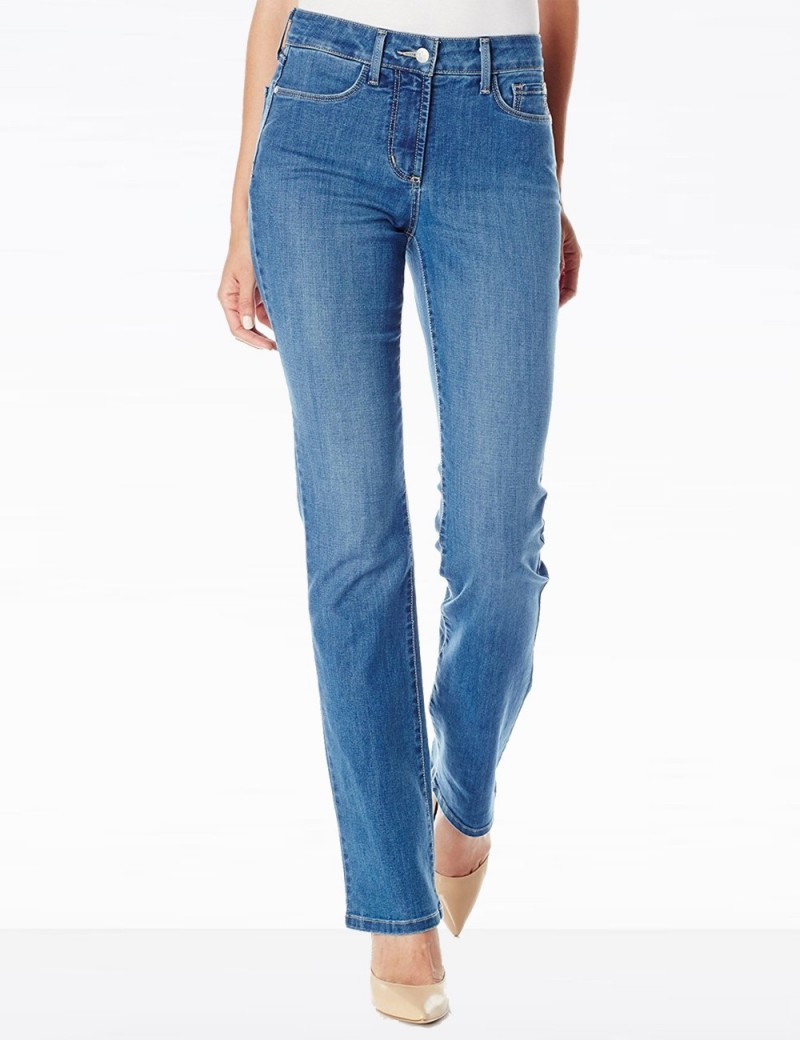 NYDJ - Marilyn Straight Leg Jeans in Arabian Sea *MANV1438