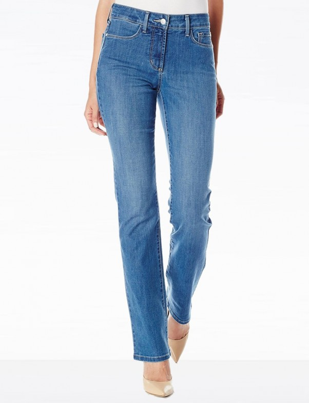 NYDJ - Marilyn Straight Leg Jeans in Cool Embrace Arabian Sea *MANV1425