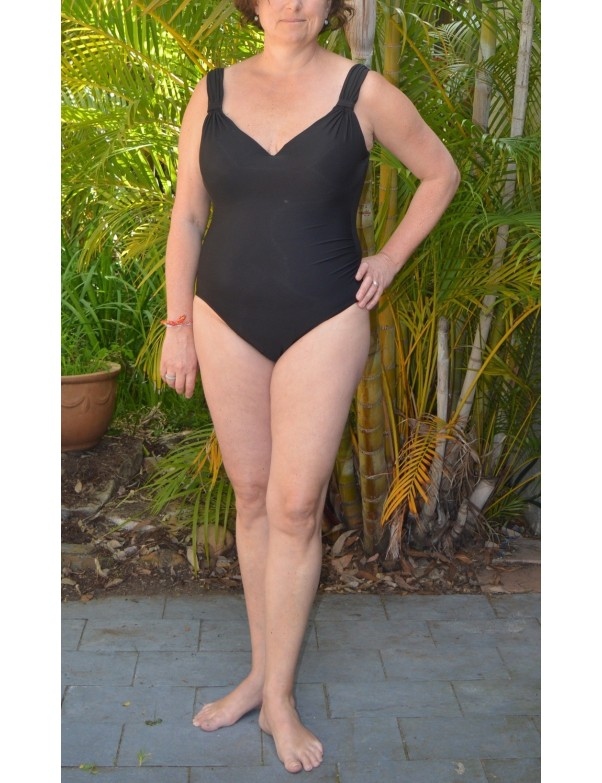 Miraclesuit - Amici Black One Piece Swimsuit