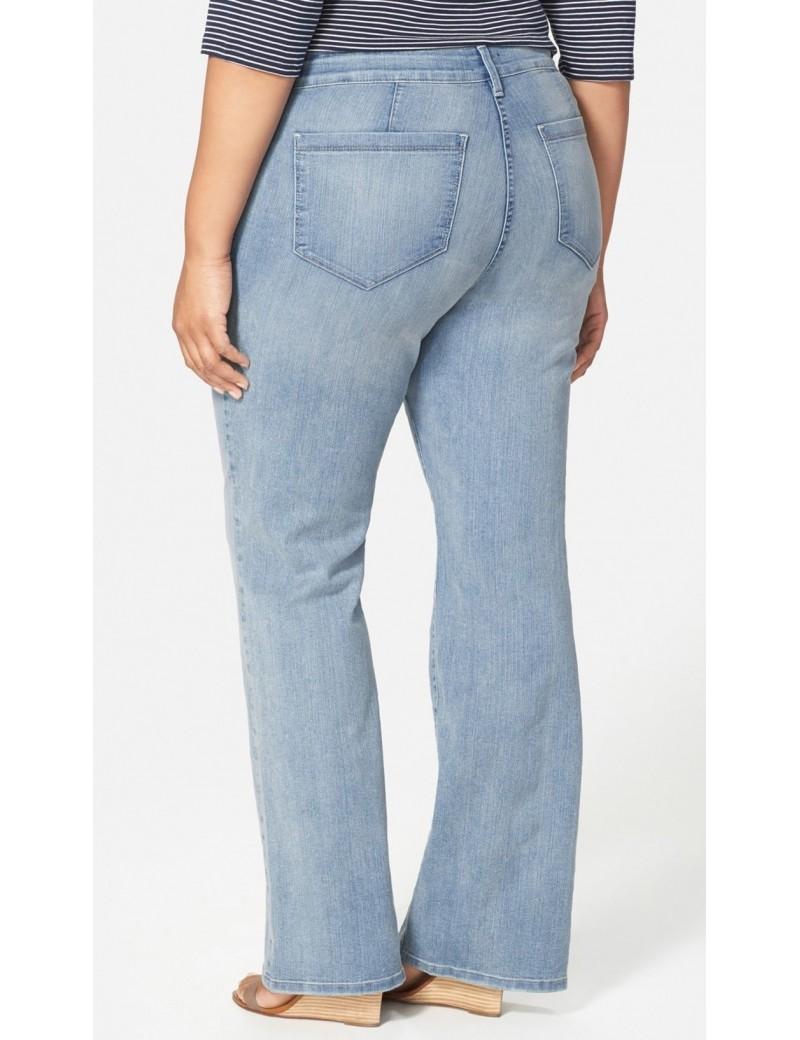 NYDJ - Plus Isabella Trousers in Manhattan Beach Wash *W10Z1329
