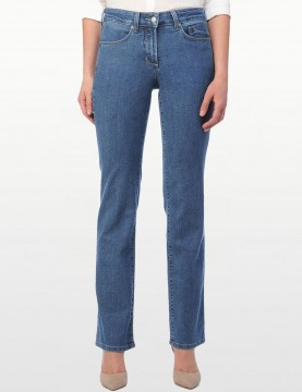 NYDJ - Marilyn Straight Leg Jeans in Monrovia Wash - Tall