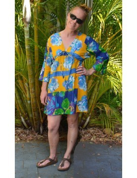 Antica Sartoria - Floral Cotton Tunic